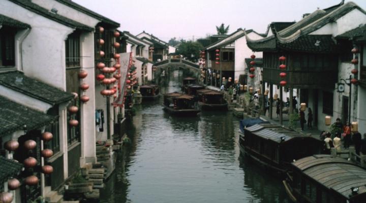 le village Zhouzhuang