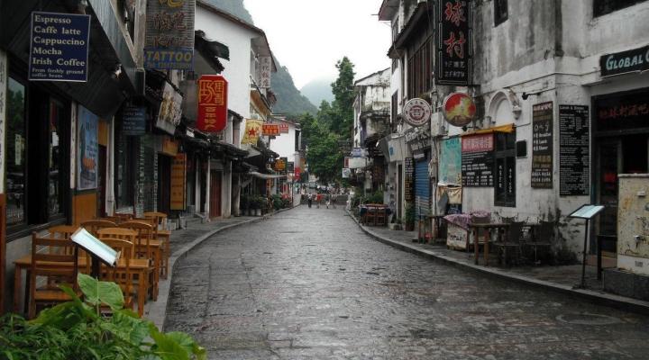 le marché Ouest de yangshuo