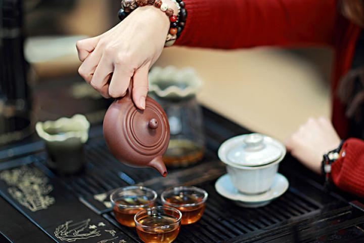 Dégustation du thé