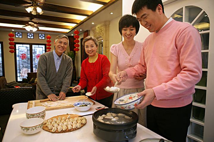 Le savoir faire des raviolis chinois