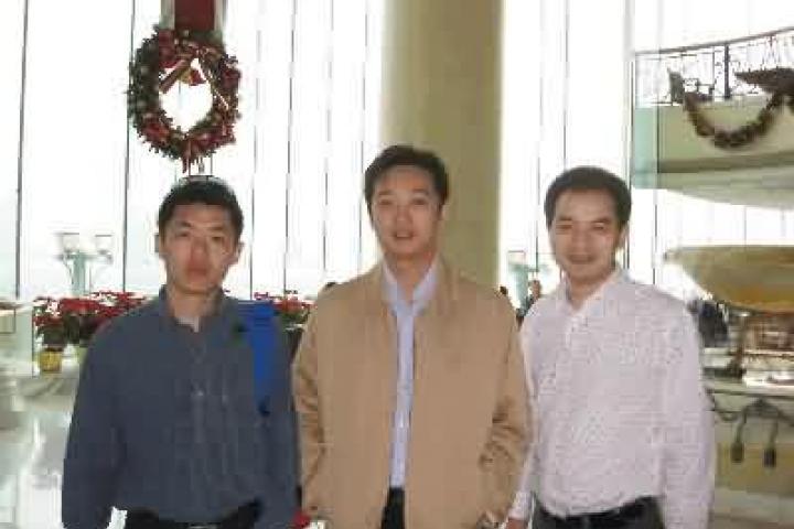 Jan.9,2009, l'équipe de Chine Evasion Voyages à Hongkong