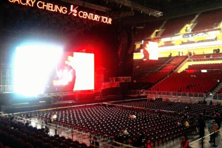 Concert de Jacky Cheung à Pékin