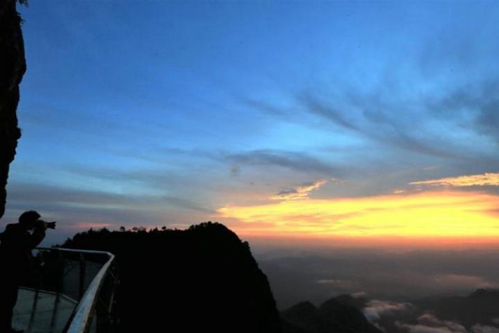 La passerelle la plus haute de Chine