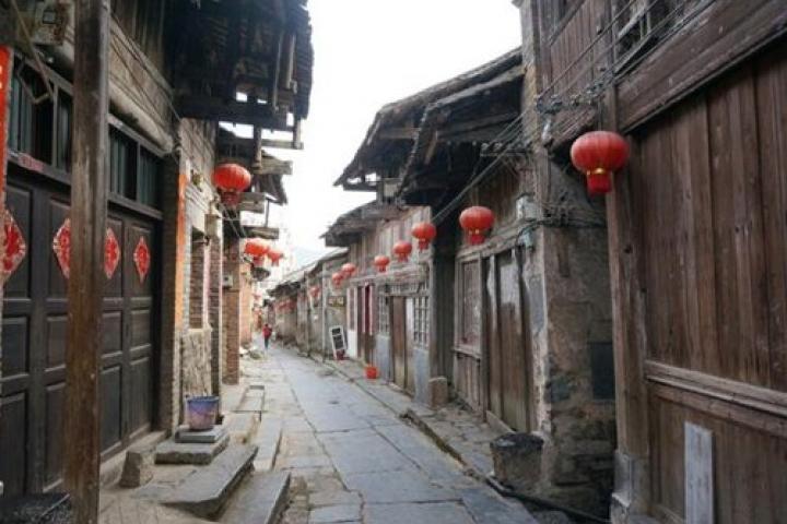 La vieille ville de Daxu