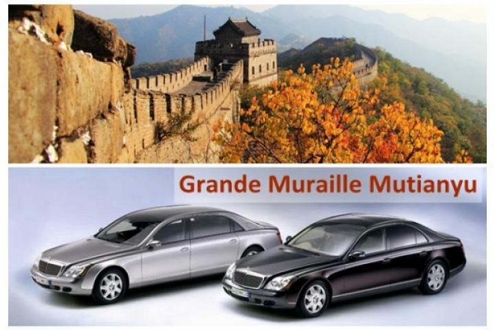 Location voiture 4 sièges: Muraille Mutianyu