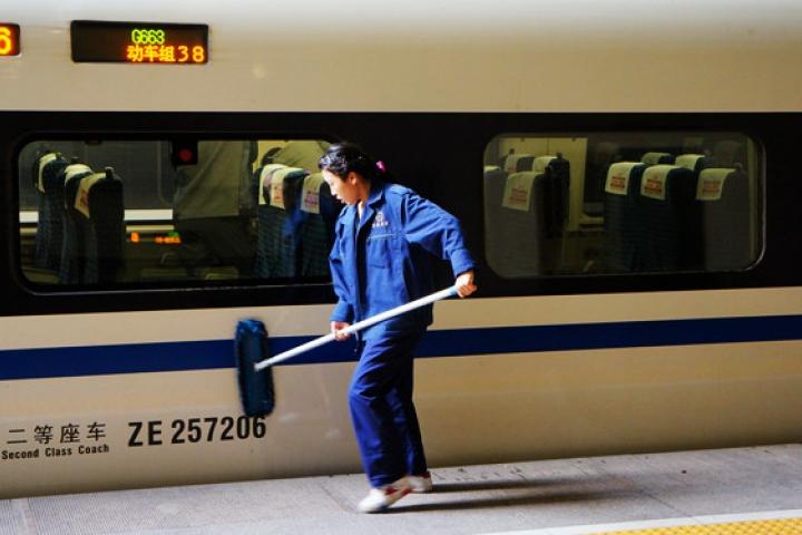Chine en TGV