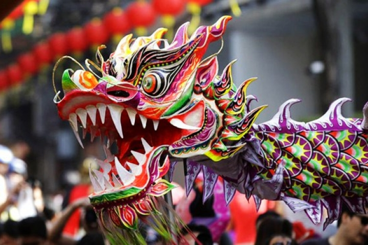Nouvel an Chinois et ses folklores